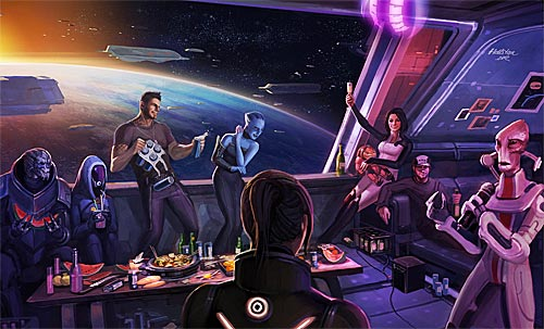 Mass Effect 3 fanart